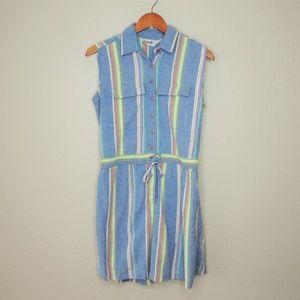Vintage 90's 100% Cotton Summer Colorful Romper